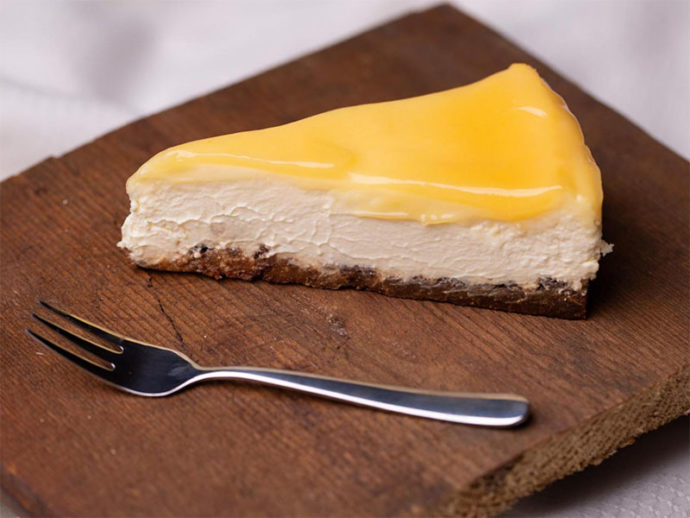 Dora's Lemoncurd Cheesecake